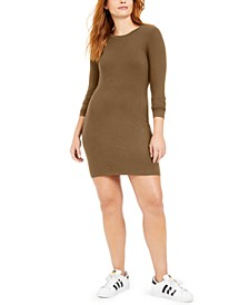 Bodycon Long-Sleeve Mini Dress, Created for Macy's