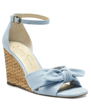 Jessica Simpson WOMEN'S DELIRAH ESPADRILLE WEDGE SANDALS WOMEN'S SHOES
