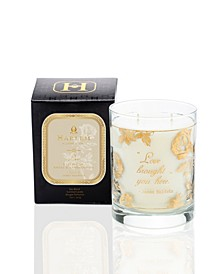 "22k Gold James Baldwin ""Love"" Luxury Candle"