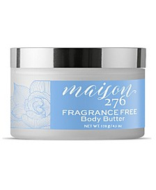 Fragrance Free Body Butter, 4.5 oz