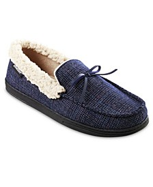 Men's Tanner Moccasin Slippers