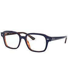 RX5382 Tucson Unisex Square Eyeglasses