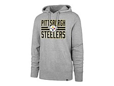 Pittsburgh Steelers Men's Block Stripe Headline Hoodie