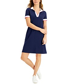 Cotton Collared Shirtdress, Created for Macy's