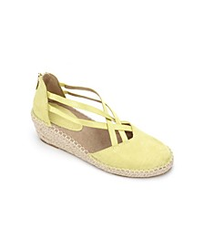 Women's Clo Elastic Espadrille Wedge Sandals