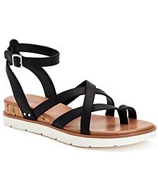 Darlaa Wedge Sandals, Created for Macy's