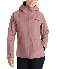 Minimalist Hooded Rain Jacket