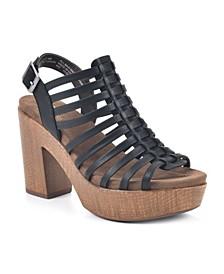 Astonish Women's Platform Heel Sandals