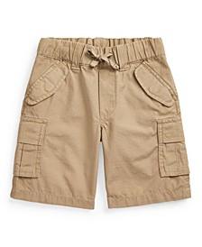 Toddler Boys Cotton Ripstop Cargo Short