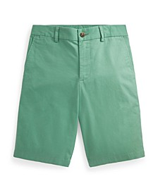 Big Boys Straight Fit Stretch Chino Short