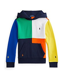 Big Boys Color Blocked Fleece Hoodie
