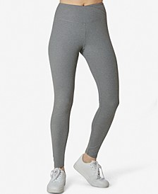 Juniors' Ribbed V-Waist Leggings