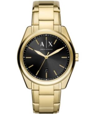 Ax Men's Gold-Tone Stainless Steel Bracelet Watch 42mm