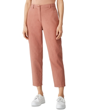 Eileen Fisher ORGANIC ANKLE PANTS