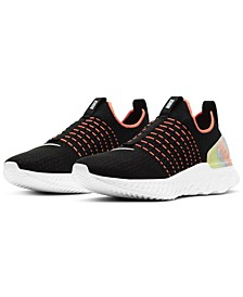 Women's Epic Phantom React Flyknit 2 Running Sneakers from Finish Line