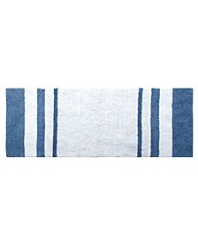 "Broad Stripe Reversible Cotton Oversized Rug, 22"" x 60"""