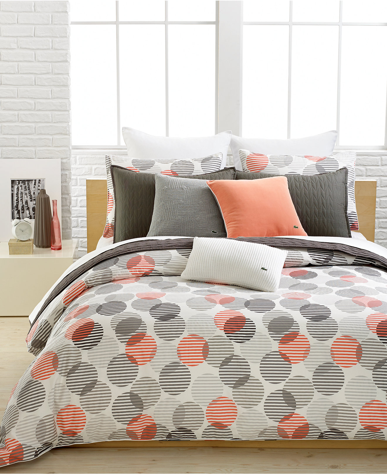 Bedding sets for women - Lacoste Odaiba Bedding Collection 100 Cotton Bedding Collections Bed Bath Macy S