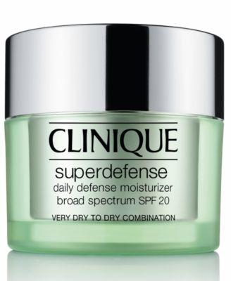 Superdefense Daily Defense Moisturizer Broad Spectrum SPF 20 Skin Types 1/2, 1.7 oz.