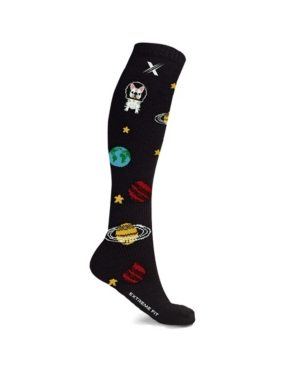 Men's and Women's Space and Orbits Knee High Compression Socks