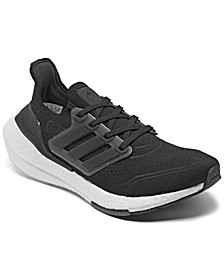 Women's UltraBOOST 21 Running Sneakers from Finish Line
