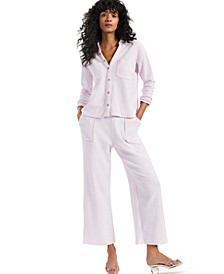 Petite Modern Lounge Textured Shirt, Created for Macy's