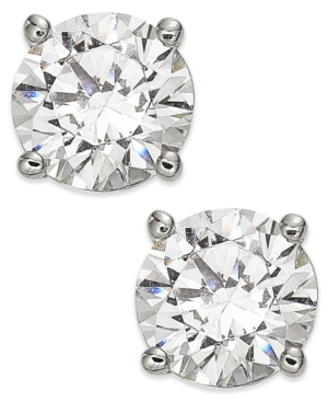 Diamond Stud Earrings...