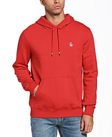 Men's Slim-Fit Solid Fleece Hoodie
