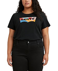 Trendy Plus Size Logo Perfect T-Shirt