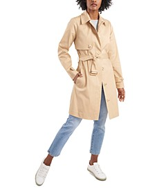 Georgie Belted Trench Coat, Created for Macy's
