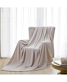 Luxurious Thermal 100% Cotton Blanket, Full/Queen