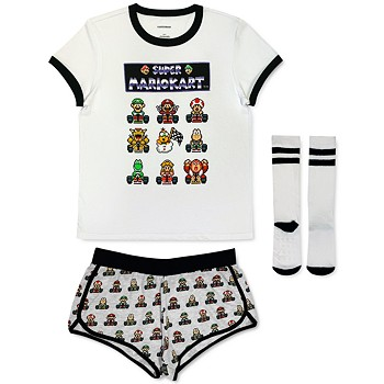 Mario Kart Super 3-Piece Pajama Set