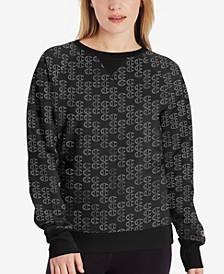 Women's Powerblend Print Sweatshirt