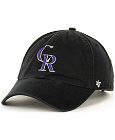 '47 Brand Colorado Rockies Clean Up Hat