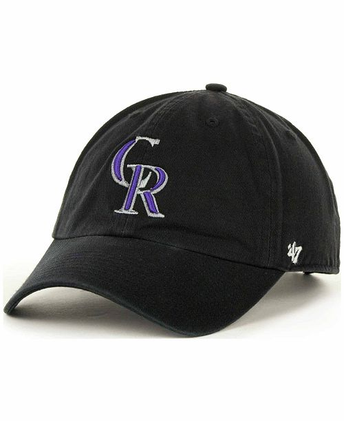 '47 Brand Colorado Rockies Clean Up Hat