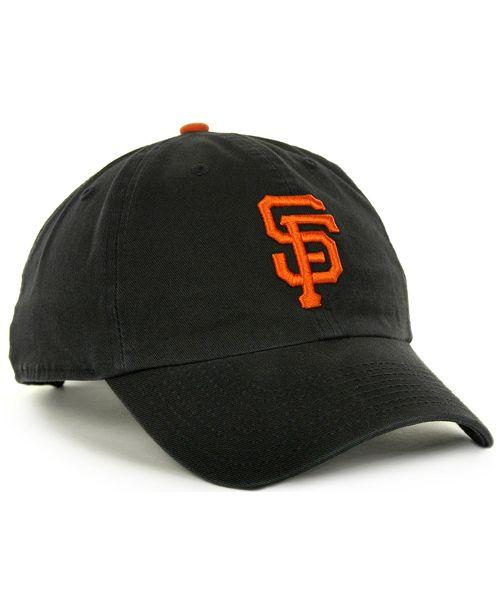 47 Brand San Francisco Giants Clean Up Hat - Sports Fan Shop By Lids ... 474745e7000f