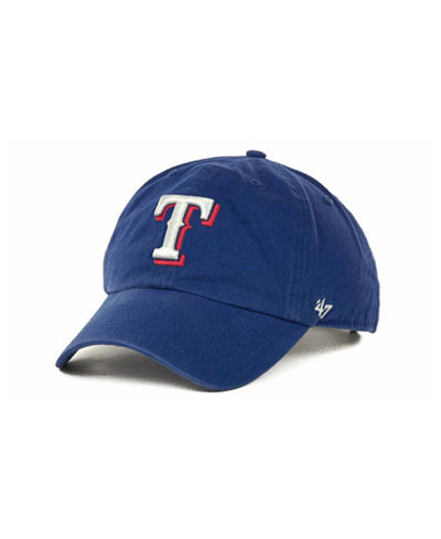 '47 Brand Texas Rangers Clean Up Hat