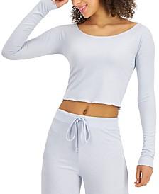 Rib-Knit Sleep Top, Created for Macy's
