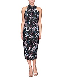 Printed Harland Midi Dress