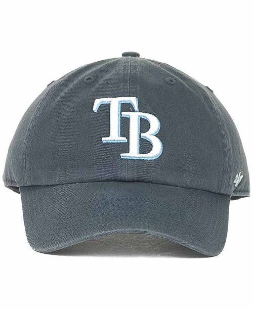 best service ece85 a5a5e ... new era hat 35c2d 5a24e  get 47 brand tampa bay rays clean up hat  sports fan shop by lids men c2525