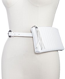 INC Channel-Stitch Convertible Belt Bag to Crossbody, Created for Macy's