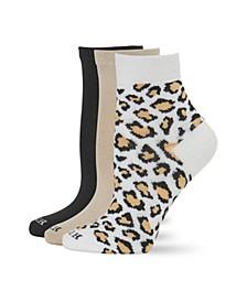Women's 3 Pack Super Soft Cropped Socks
