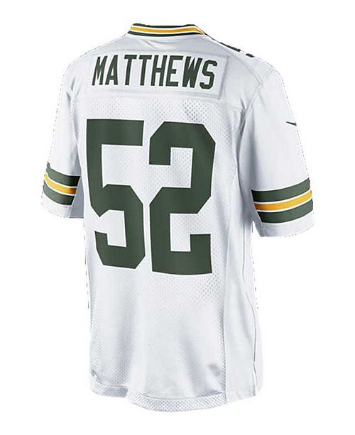 best loved 48a46 39022 Men's Clay Matthews Green Bay Packers Limited Jersey