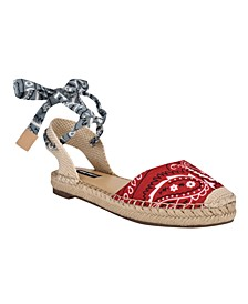 Women's Mage Tie-Up Espadrilles
