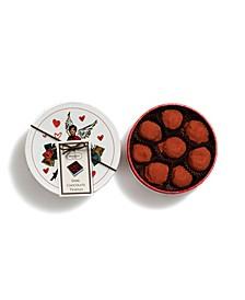 Izak Zenou Valentine's Day Dark Chocolate Truffles, 8 Piece