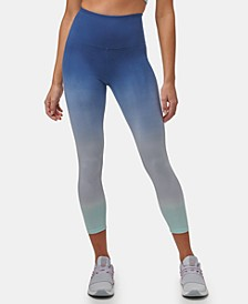 Women's Ombre Cotton-Spandex Legging