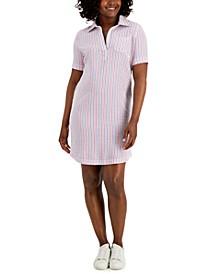 Petite Seersucker Dress, Created for Macy's