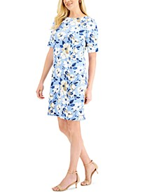 Tea Time Floral-Print Dress, Created for Macy's