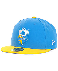 New Era San Diego Chargers Historic Basic 59FIFTY Hat