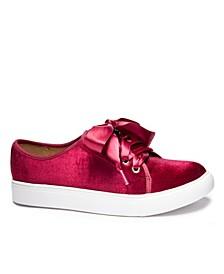 Women's Fillmore Velvet Sneakers