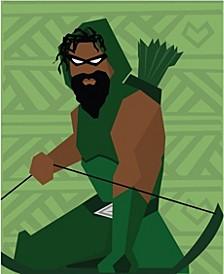 Green Arrow Art Print